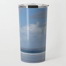 Cornwall Beach Photo 1747 Newquay Travel Mug
