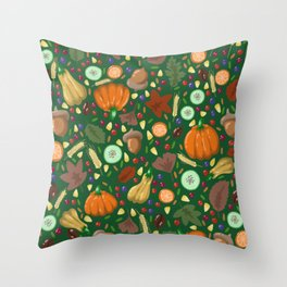 Thanksgiving #2 Throw Pillow
