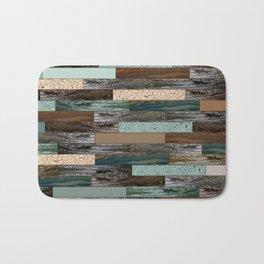 Wood in the Wall Bath Mat