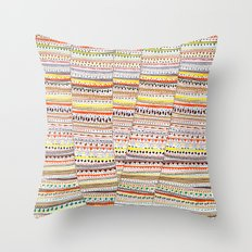 Cone pattern Throw Pillow