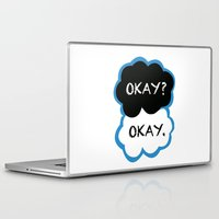 fault in our stars Laptop & iPad Skins featuring Okay? Okay. (The Fault in Our Stars) by All Things M