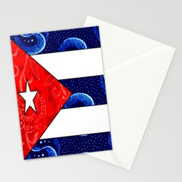 Vintage Cuban Flag Stationery Cards