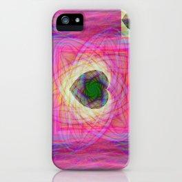 Sacred Geometry Art- Fractal Art- Abstract Art- Helix- Torus- Double Yum iPhone Case