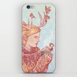 December Lady iPhone Skin