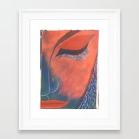 musa Framed Art Prints featuring La Musa by Alme