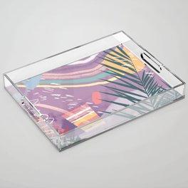 Summer Pastels Acrylic Tray