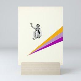 I Can Jump Higher Mini Art Print