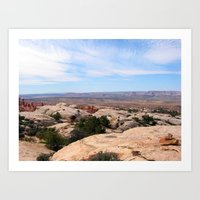 utah Art Prints featuring Utah by BACK to THE ROOTS