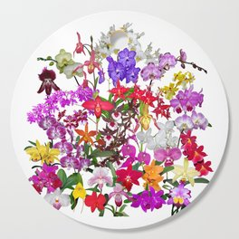 A celebration of orchids Cutting Board