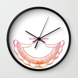Indian Emblem Wall Clock