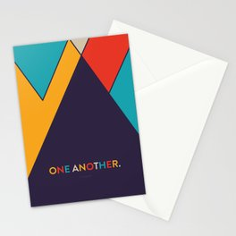 One Another Scripture Poster (Galatians 12) Stationery Cards