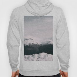 Mountain relief Alps Hoody