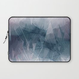 Ameythist Crystal Inspired Modern Abstract Laptop Sleeve