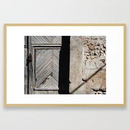 knocking heaven door Framed Art Print