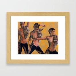 Namaste Hands Framed Art Print