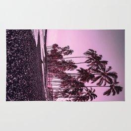 Palm trees 3 Rug