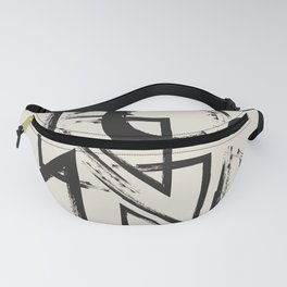 abstract drawing Fanny Pack