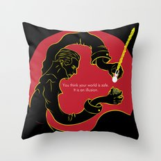 Star Trek Into Darkness Version 2 Throw Pillow
