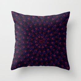 Spiral Bouquet Pattern Throw Pillow