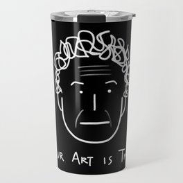 Your Art Is Trash - Gareth Jones (RISD) Travel Mug