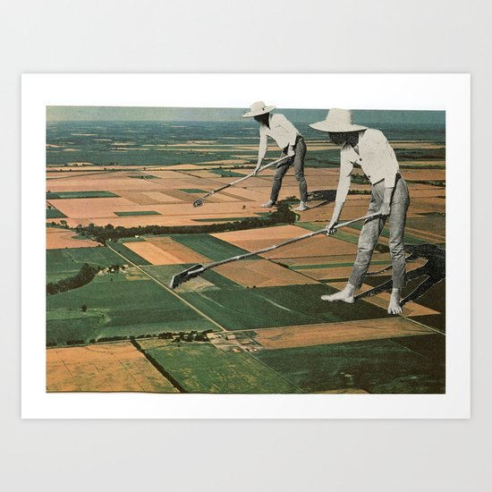 Our Crop Is Farms Art Print