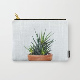Zebra Plant Carry-All Pouch