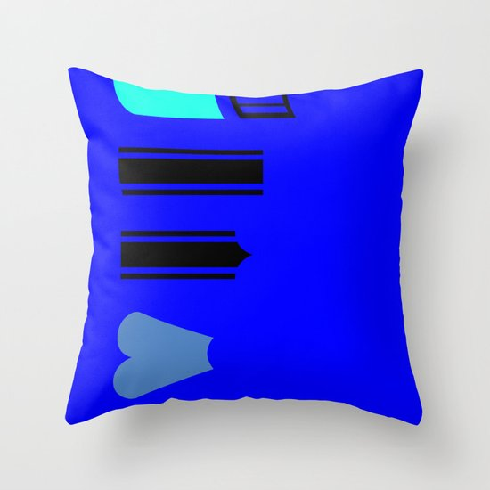 What a pencil looks like Throw Pillow