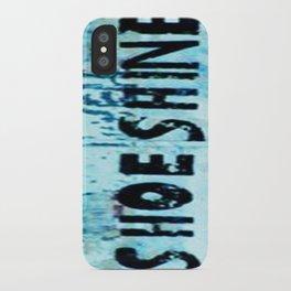 Shoe Shine  iPhone Case