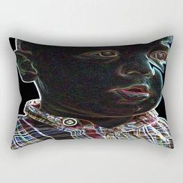 Acid Baby Rectangular Pillow