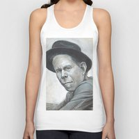 tom waits Tank Tops featuring Tom Waits by Lars-Erik Robinson