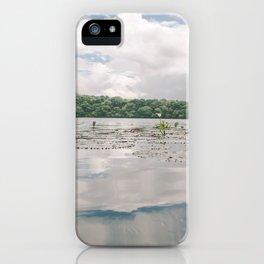 flor de loto iPhone Case