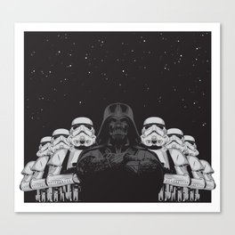 The crew Canvas Print