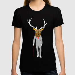 Gentleman stag T-shirt