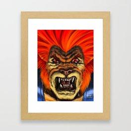 The Thunder Strikes! Framed Art Print