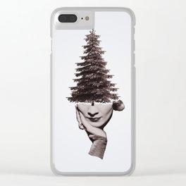 Tree People – Marlene Clear iPhone Case