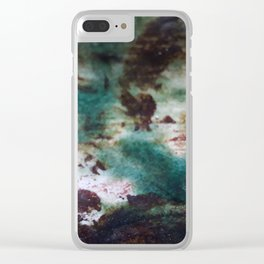 FRACTIONS Clear iPhone Case