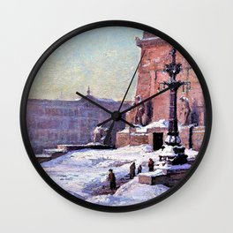 Soldiers and Sailors Monument of Indianapolis - Theodore Clement Steele Wall Clock