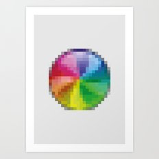 PAUSE – Disaster Art Print
