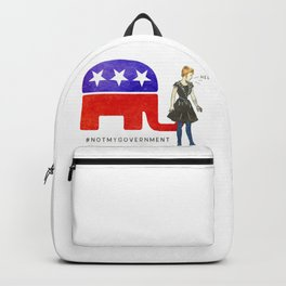 Not My Government #NotMyGovernment Backpack