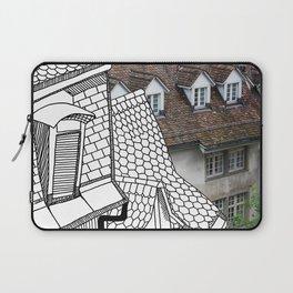 Rooftop Part II Pastiche  Laptop Sleeve