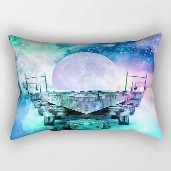 fantasy moon Rectangular Pillow