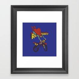 Redundancy Framed Art Print