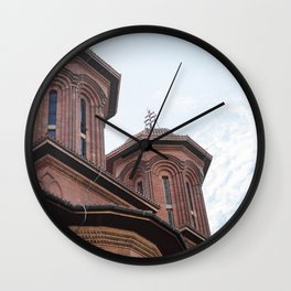 Roumania, Kretzulescu Church, Bucarest Wall Clock