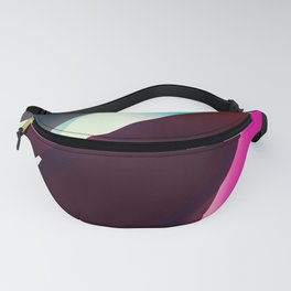 Vintage Space travel Fanny Pack