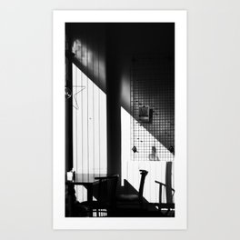 CovidCafe Art Print