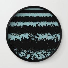 Swim Meet (solid) Wall Clock