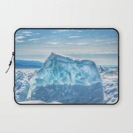 Pressure ridge of lake Baikal Laptop Sleeve