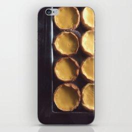 egg tart iPhone Skin