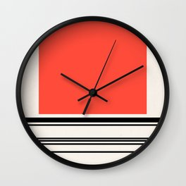 Code Red Wall Clock