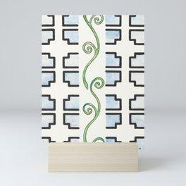 Vine and Trellis Mini Art Print